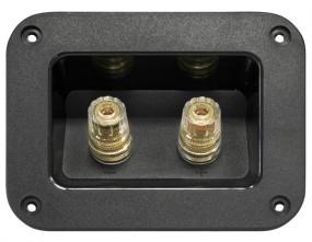 Dynavox High-End Lautsprecher Anschlußterminal | Kontakte vergoldet