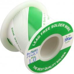 Silber Lötzinn 3,5% bleifrei Silberlot InLine® 100g Rolle