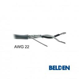 BELDEN Audiokabel 2-adrig AWG 22 abgeschirmt paarverseilt