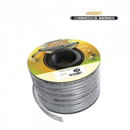 HICON Ambience 2 x 4,0 mm² Silber Finish HIA-240 Speaker Lautsprecherkabel
