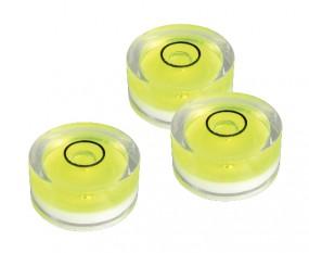 Dosenlibelle Wasserwaage Ø 18 x 9 mm | Präzisions Libelle Acrylglas