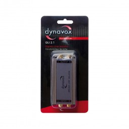 Dynavox GLI 2.1 Stereo Line Isolator | RCA Massetrennfilter Audio-Transformator